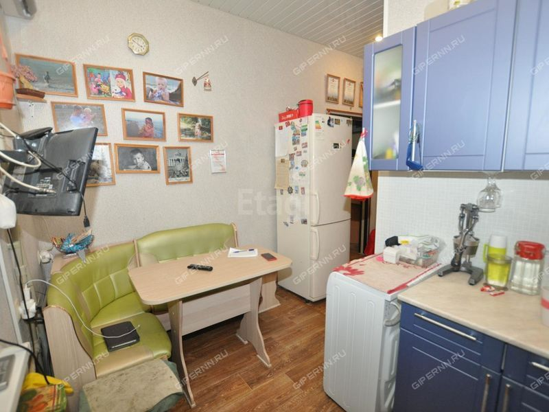 двухкомнатная квартира на улице Клюквина дом 11а город Дзержинск