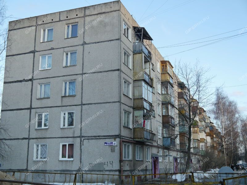 однокомнатная квартира на улице Дьяконова дом 44