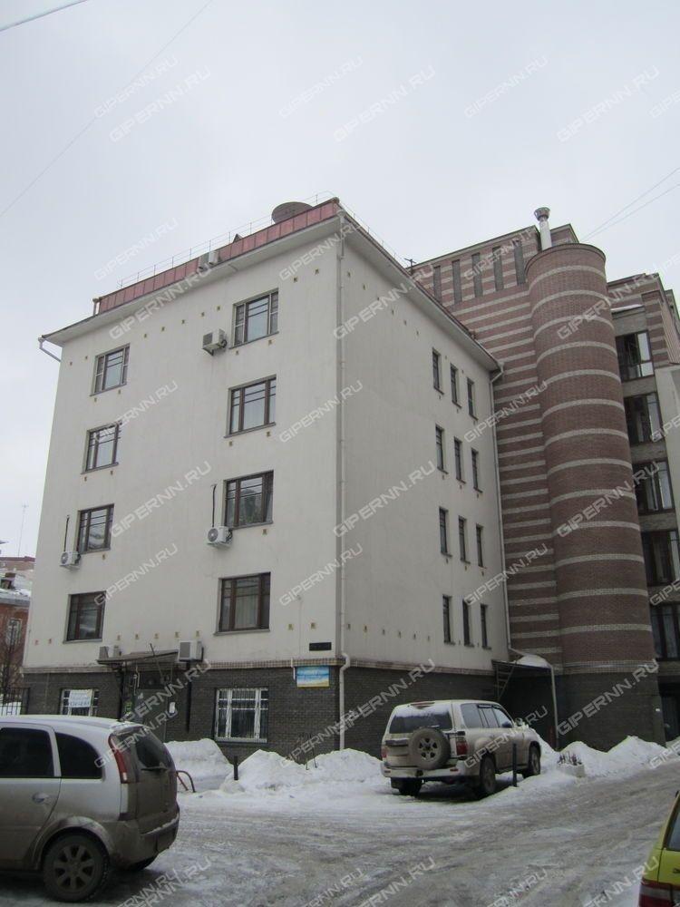 Большая Покровская улица в Нижнем Новгороде подробная
