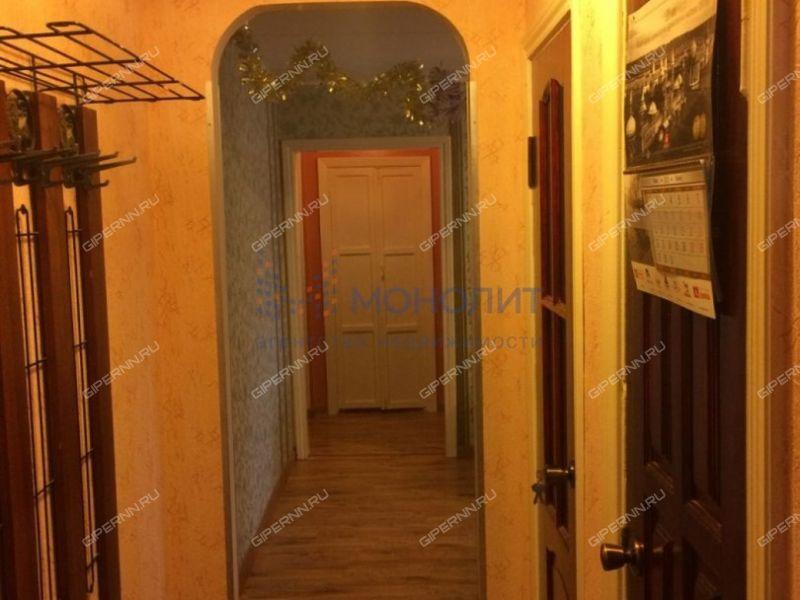 трёхкомнатная квартира на улице Евгения Никонова дом 16