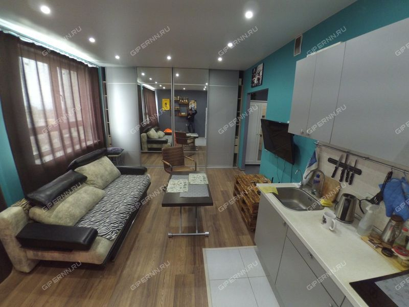 квартира-студия на проспекте Гагарина дом 101 к1